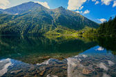 Eye of the Sea (Morskie Oko) lake in Tatra mountains