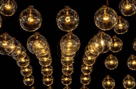 Photo pour Décoration d'éclairage de mode de luxe - image libre de droit