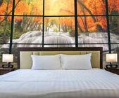 Luxury Interior bedroom with windows