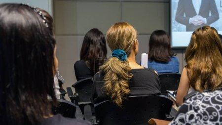 Business People during seminar