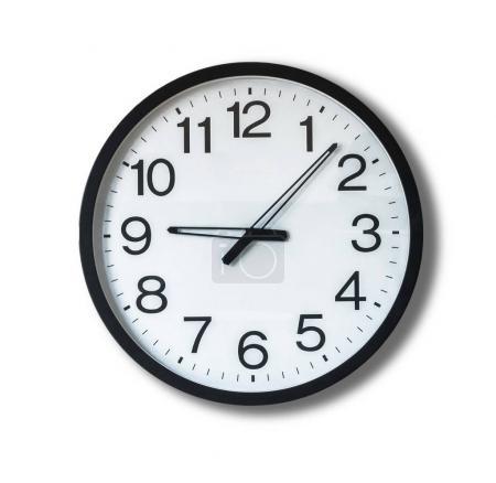 Simple dial clock