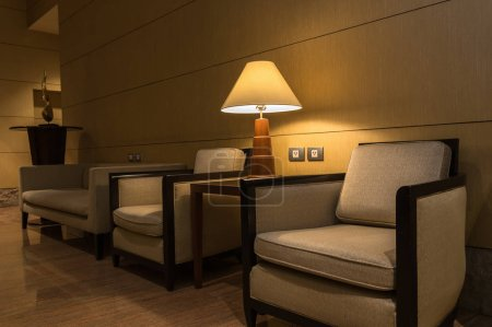 modern sofas with lamp