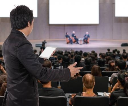 Business People Conference Speaker