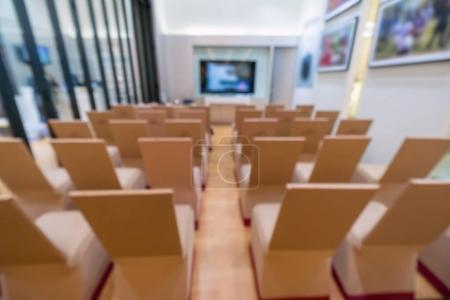 photo of seminar or meeting room