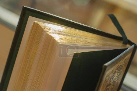 libro con un borde dorado. libro con espina dorada. libros favoritos. biblioteca en casa. los mejores escritores