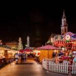 Carousel at the Christmas Market, Vipiteno, Sterzi...