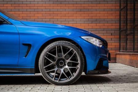 Wheel of BMW