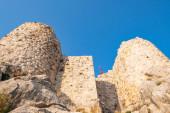 "Постер, картина, фотообои ""Замок Снаке ""Илан Кале"" вид Афаса, Турция"""