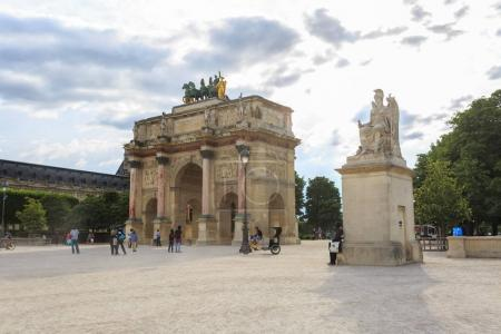 The Arc de Triomphe du Carrousel is a triumphal arch in Paris.