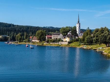 Lipno Dam And Frymburk - Sumava, Czech Republic
