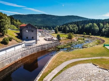 Hydroelectric Power Station - Lipno,Czech Republic