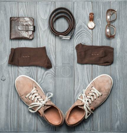 Men's Shoes and Accessories.
