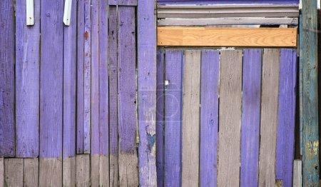 Photo pour Texture bois violet, gros plan - image libre de droit