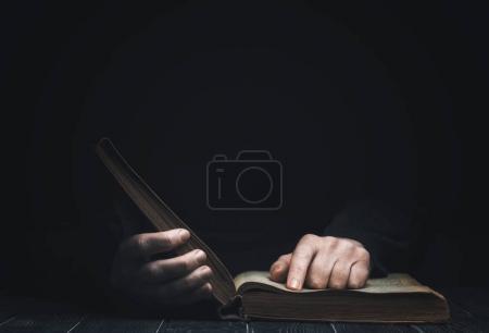 man Book reading