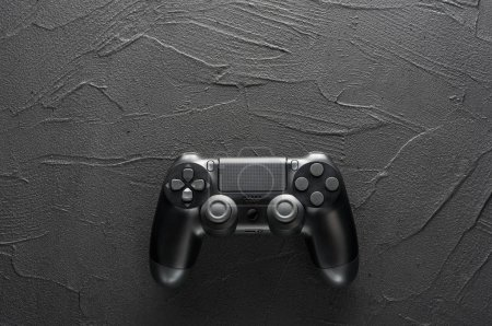 Gamepad on dark background