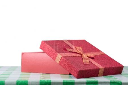 Gift box with isolated background