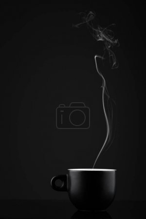 espresso on an abstract background
