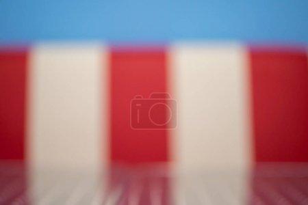 Photo pour Fond flou abstrait dans le style d'un caf des fifti - image libre de droit