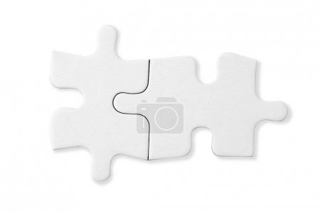two white empty puzzle pieces