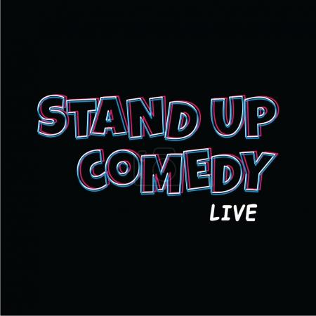 Illustration for Stand up comedy vector illustration - Royalty Free Image