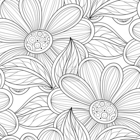 Seamless floral Ornate Pattern