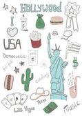 American icons Set