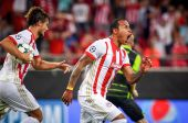 UEFA Champions League game between Olympiacos vs Sporting CP at
