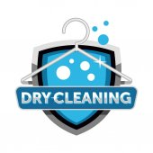 Dry cleaning logo design