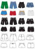 Shorts fashion icons