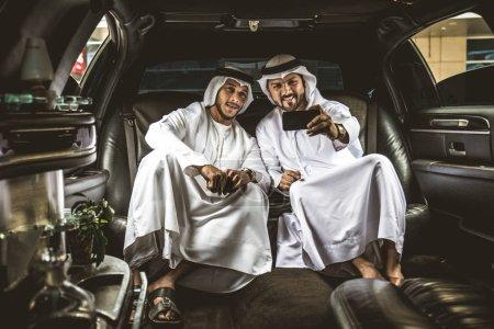 Arabian businessmen in Dubai