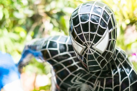 Close up Model of Spiderman