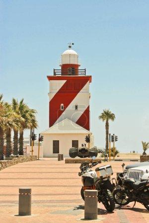 Photo pour Mouille Point sur la promenade Sea Point au Cap, Afrique du Sud . - image libre de droit