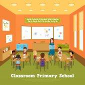 Primary School Classroom Template