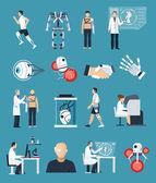 Bionics Icons Set