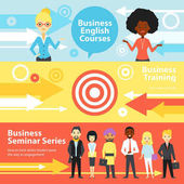 Business Training Horizontal Banners