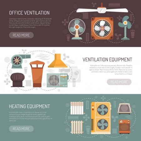 Ventilation Conditioning And Heating Banners