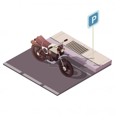 Motorcycle Isometric Concept