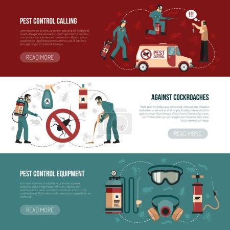 Pest Control Horizontal Banners