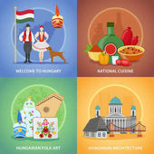Hungarian Culture Compositions Set