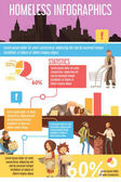Homeless People Infographics