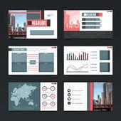 Urban Presentation Templates Set