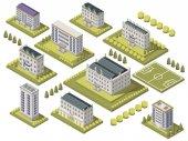 Isometric University Set