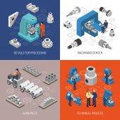 Heavy Industry Isometric Design Concept