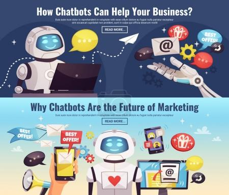 Chatbot Horizontal Banners