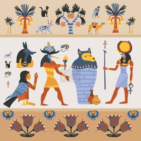 Ancient Egyptian Illustration