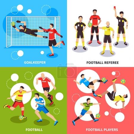 Soccer Players Design Concept