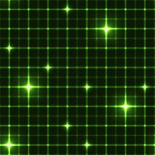 Dark green grid with shining points