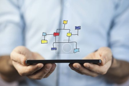 Businessman with Mobile Smartphone