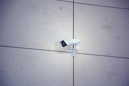 camera in building in the street