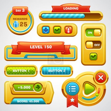 Game interface elements